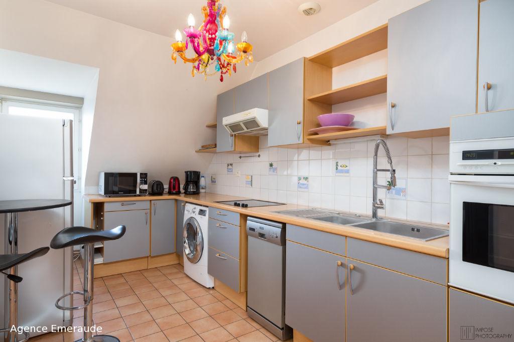 Appartement Saint Malo 5 pièce(s) 126.32 m² 4 chambres dernier étage grand garage