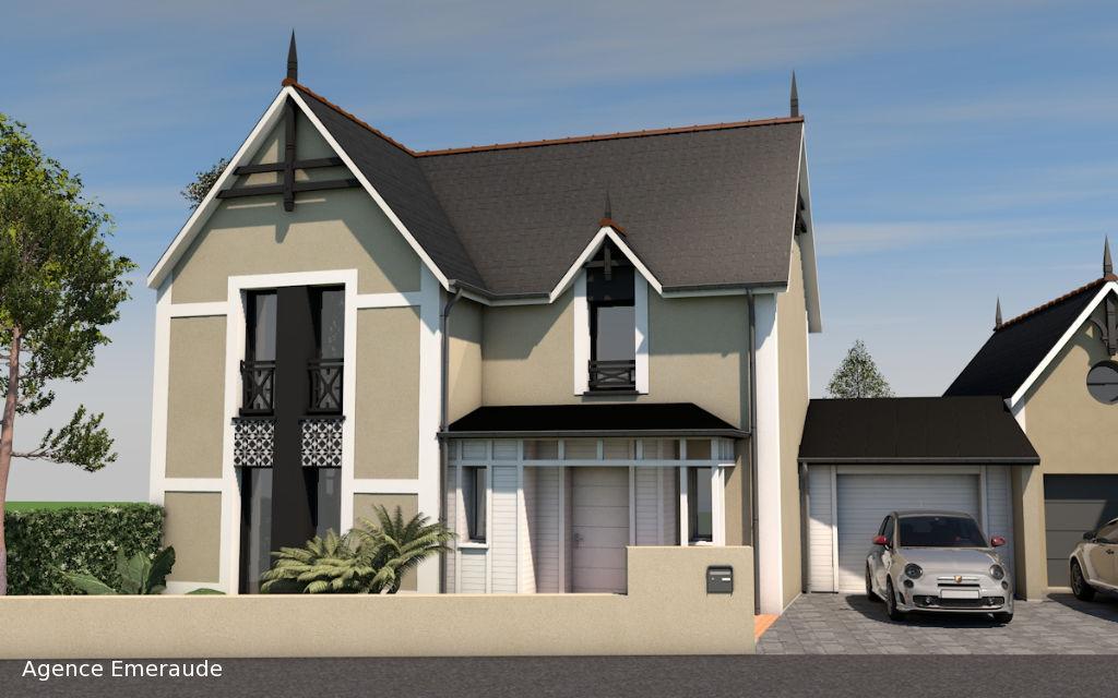Maison Dinard 5 pièce(s) 130.26 m² suite parentale au rdc terrain de 272 m² garage parking.