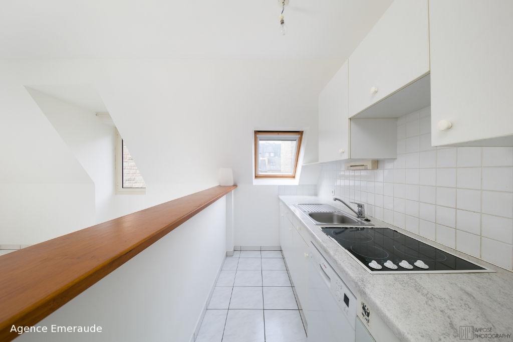 Appartement Dinard 2 pièce(s) 53.07 m² - hyper centre - cave parking