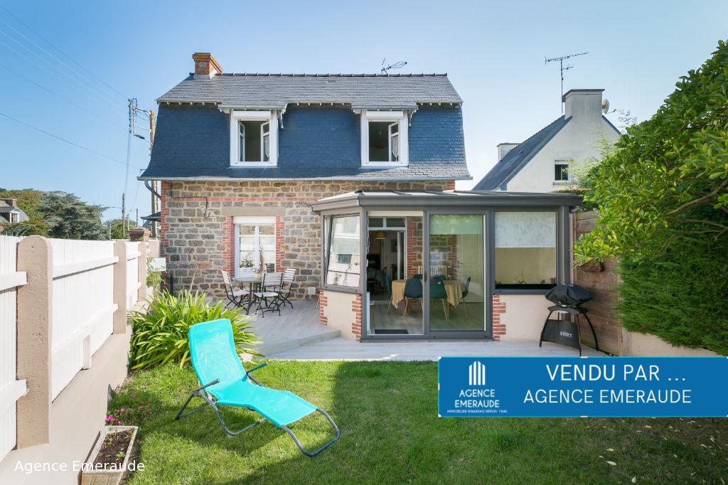 Maison de charme Dinard 4 pièces, proximité immédiate des plages et centre de St Enogat