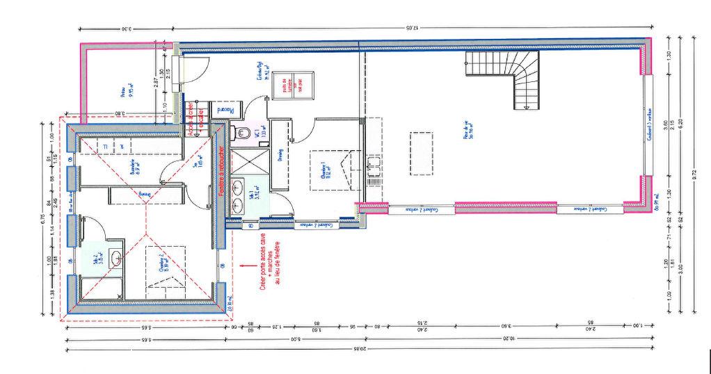 Maison Dinard 5 pièce(s) 154.35 m² grande pièce de vie suite parentale au rez-de-chaussée