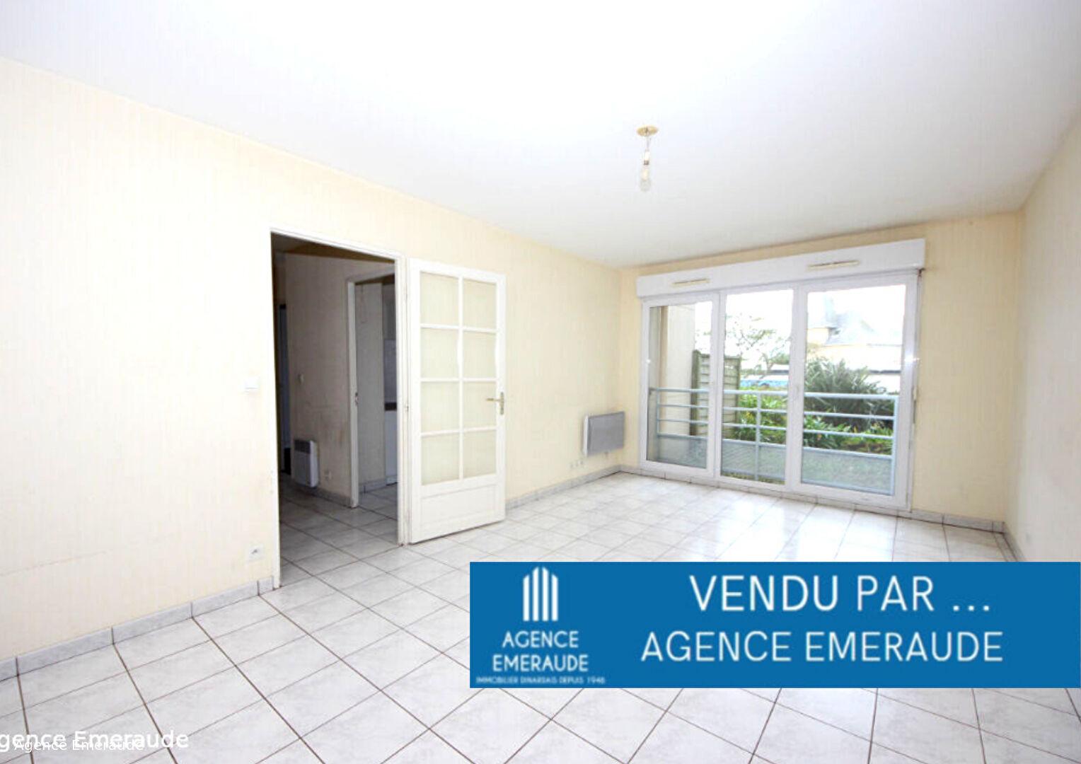 Appartement Saint-malo 2 pièce(s) 49.71 m² terrasse, garage et cellier