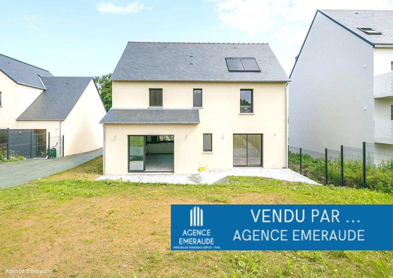 Maison neuve Dinard 6 pièce(s) 133.89 m² vie de plain pied terrain d'une surface de 488 m²