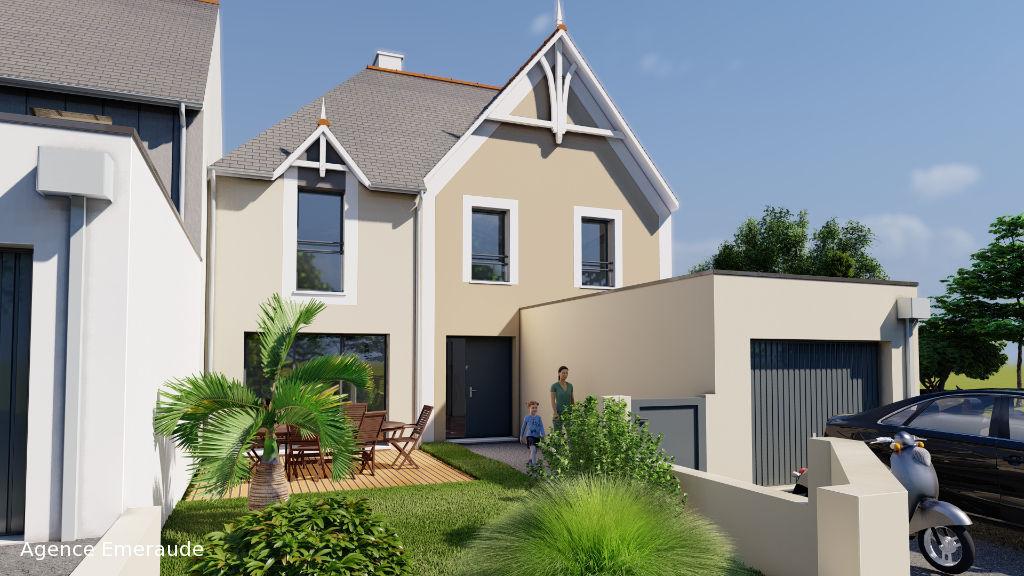 Maison Dinard 5 pièce(s) 141.6 m² Maison neuve style néo-balnéaire