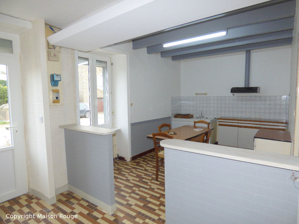 Maison de bourg Saint Coulomb T5  101m²