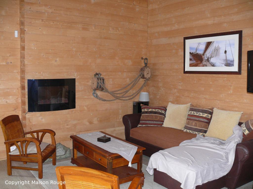 Maison plain pied en bois de 100m²