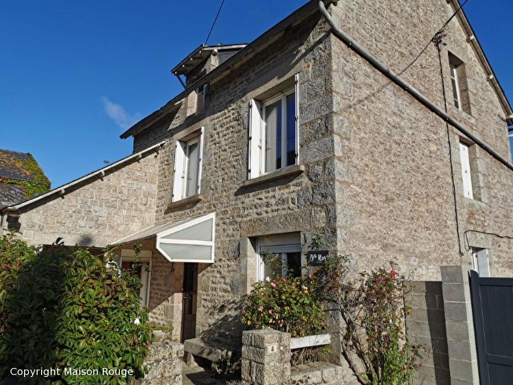 Maison de bourg en pierres à moderniser