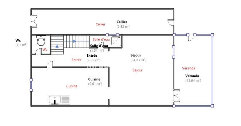 Maison Saint Malo 4 pièce(s) 85m²