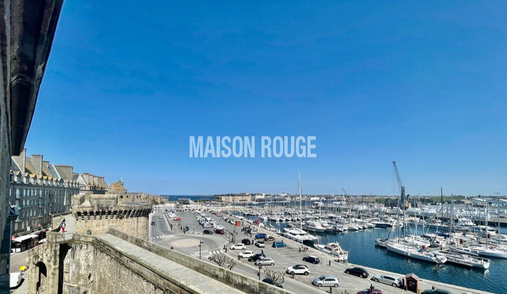 ST Malo Intra-Muros 3 pièces 69 m² vue Mer