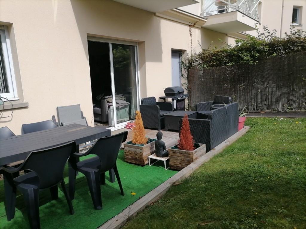 Appartement Pleurtuit 2 pièces 52 m2 Vendu Loué -CENTRE VILLE