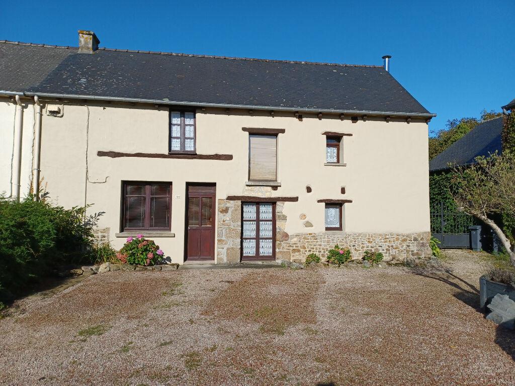 Maison bretonne avec jardin en centre bourg