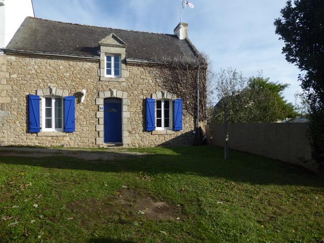 56550 Belz Maison de pays au calme d'une impasse 100ms de la Rivière d'Etel avec jardin exposé sud