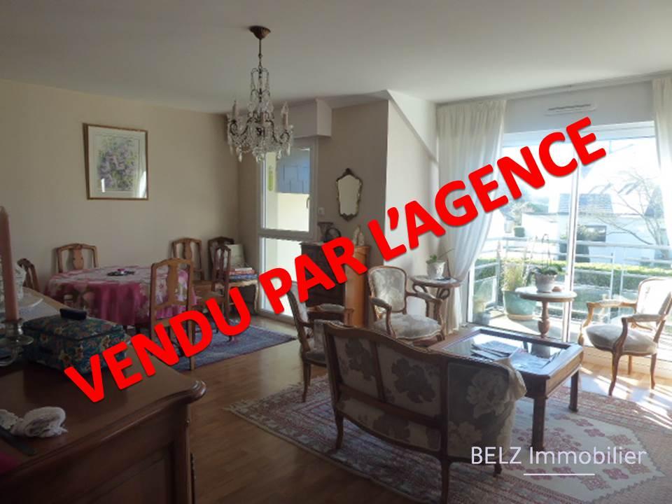 MORBIHAN SUD, BELZ 56550 Bel Appartement 3 pièces dont 2 chambres, balcon, GARAGE et place de parking