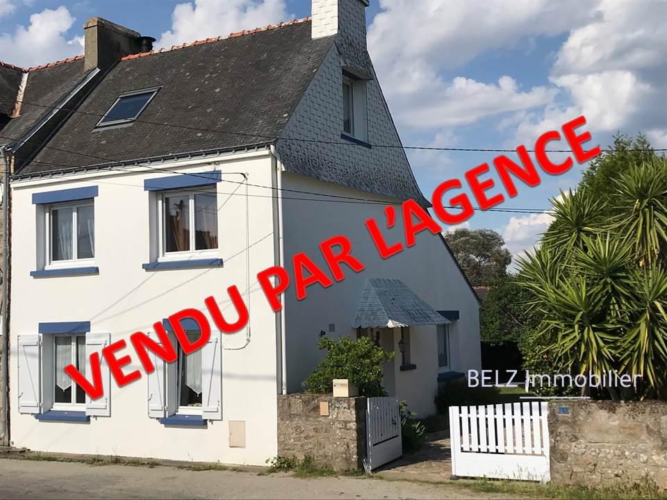Maison Belz 56550 EXCLUSIVITE A PIEDS à la Rivière d'Etel Maiosn de 3 chambres avec jardin et double garage