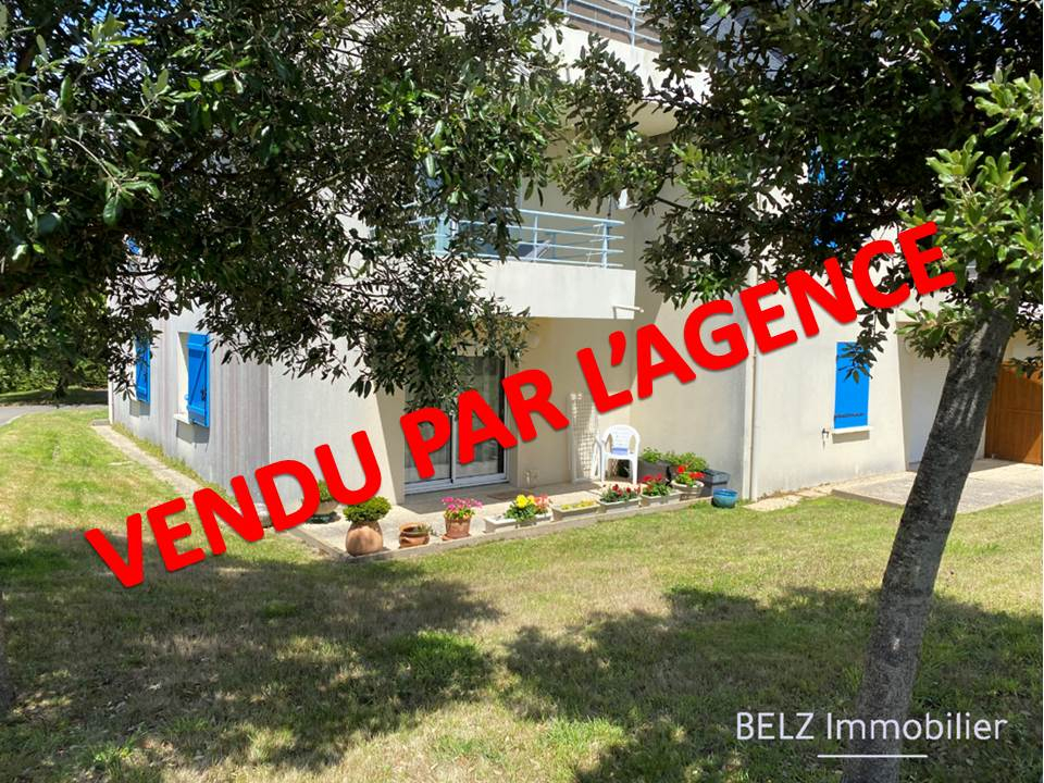 Morbihan SUD BELZ 56550 Appartement  3 pièce(s) 60.03m²  de plain pied 2 chambres terrasse place de staionnement