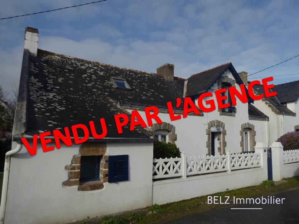 Belz 56550 RIA d'ETEL Maison de pays rénovée en 1998 3 chambres dont 1 en RDC 1 bureau terrain de 231m²