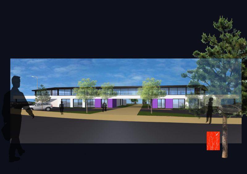 Nouvel immeuble de bureaux TECHNOPOLE BREST lot 14+15+16+17