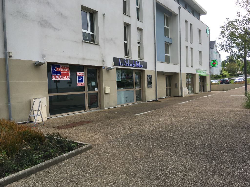 A louer un local commercial de 87 m² centre Quimper