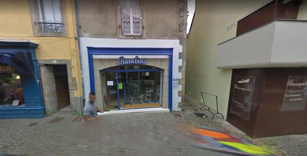 A louer local commercial de 79 m² au centre ville historique de Quimper 29000