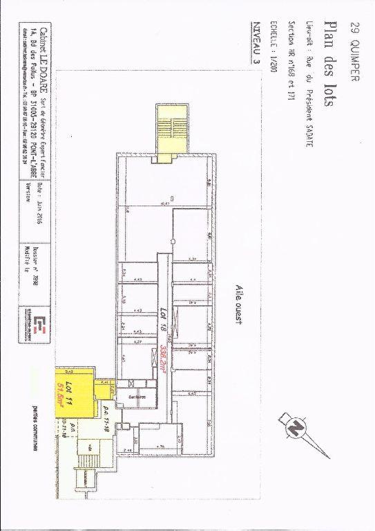 A vendre un plateau de bureau de 338 m² situé au centre d'affaires de Creac'h Gwen à Quimper 29000 ,