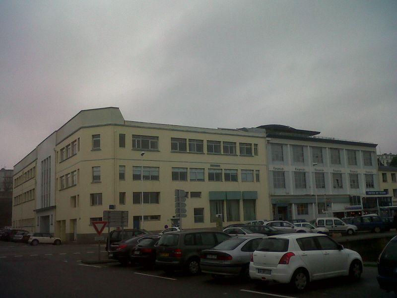 Bureaux Brest port de commerce 130m² Location