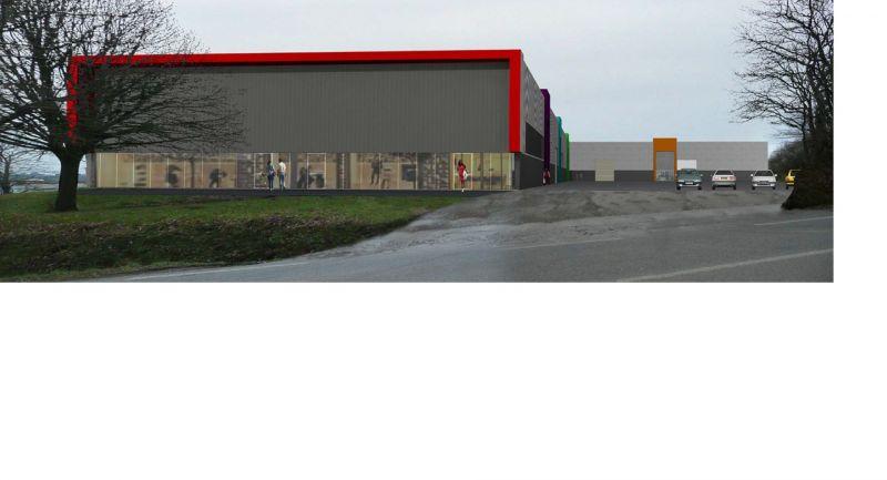 Local d'activité et stockage 335 m2 Brest Guipavas Lavallot