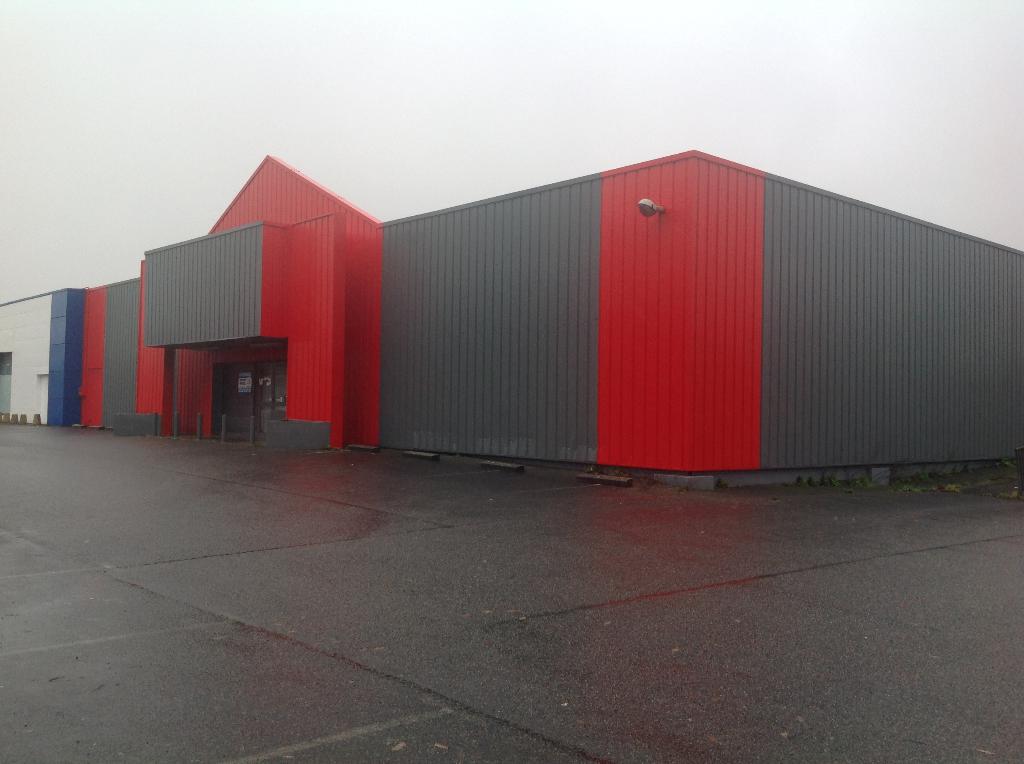 Local commercial Concarneau 880 m2 peripherie