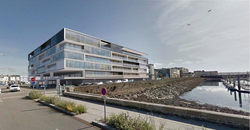 A vendre bureaux  vue mer Brest 972 m2 port du Château