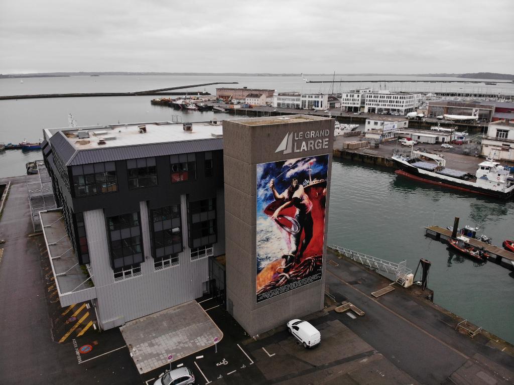 Bureaux à louer BREST - Port de Commerce - 160 m²