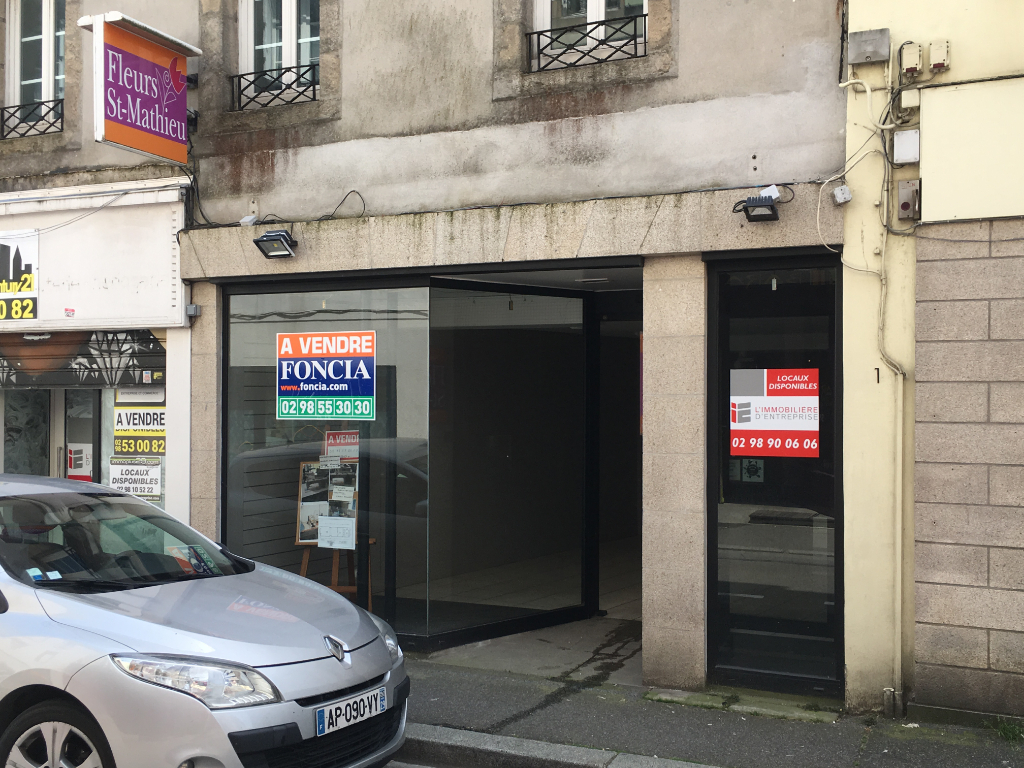 À VENDRE Local commercial de 71 m² au centre ville 29000 Quimper
