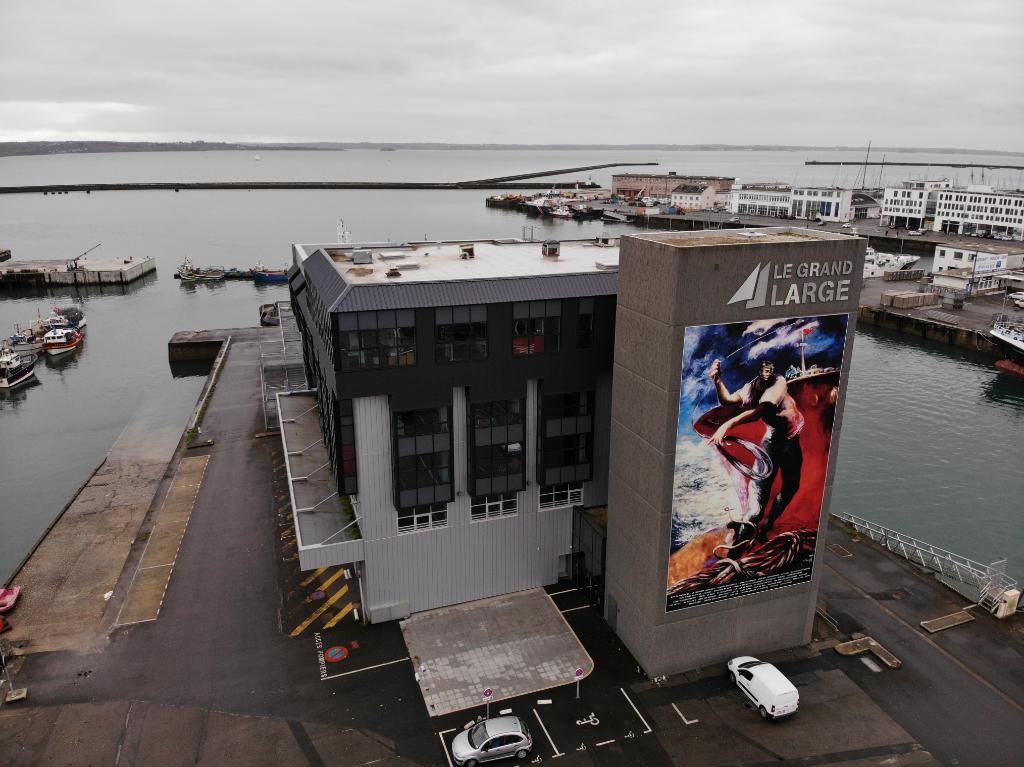 BREST  Bureaux 85m² à louer - Port de Commerce -