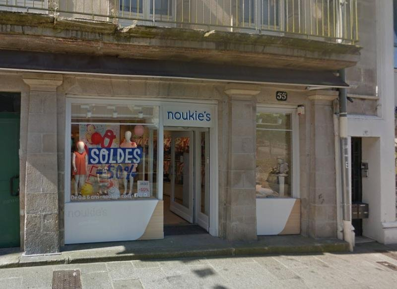 Local commercial Quimper 90 m2 rue Kéréon