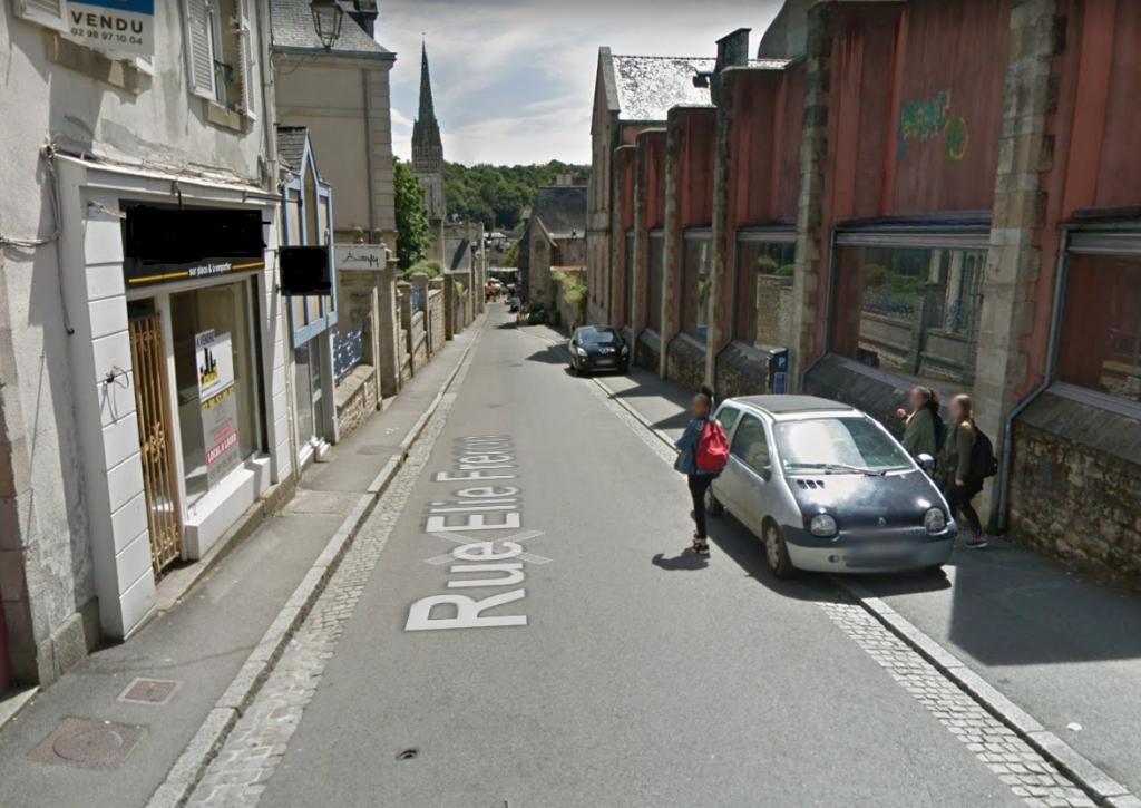À LOUER local commercial de 80 m² proche du centre historique et piétonnier du centre ville de Quimper 29000