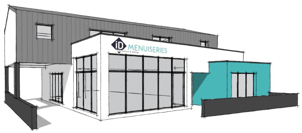 A louer un local d'activité commercial de 58 m² zone d'activités du Rouillen 29 000 Quimper