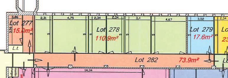 A louer un plateau de bureau de 154 m² en rdc  centre d'affaire de Creac'h Gwen -Quimper 29000 ,