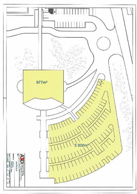 À vendre un terrain constructible de 30 000 m² avec une visibilité très attractive situé le long de la quatre voies (RN 65) à Châteaulin 29150