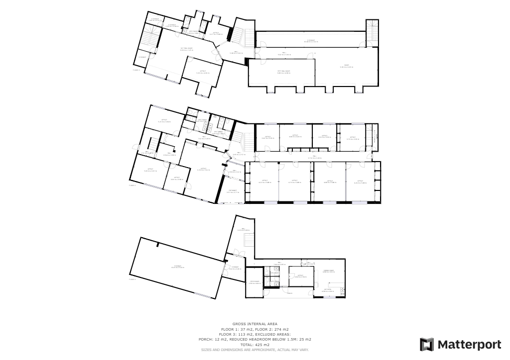 A louer Bureaux de 900 m² divisible 29 000 Quimper