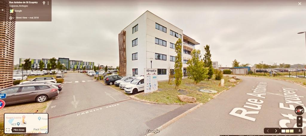 Vente des bureaux - Guipavas zone de Prat pip - 250m²
