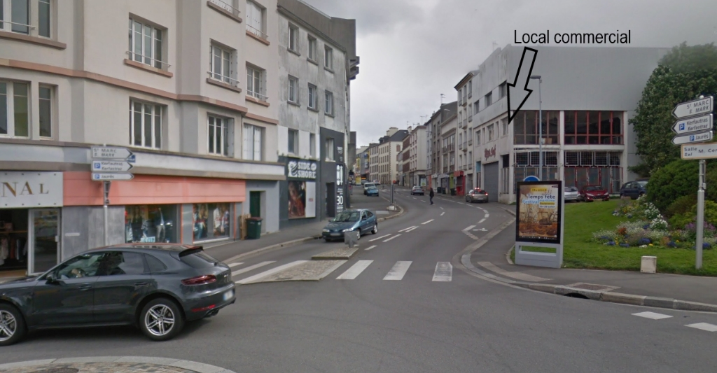 Local commercial Brest 323 m2