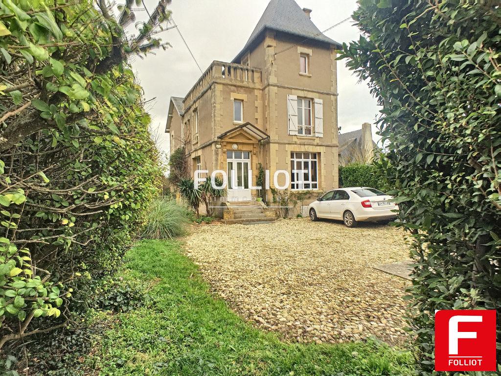 ACHAT / VENTE Maison Bernieres Sur Mer 6 pièce(s) 161 m2, terrain 1458m²