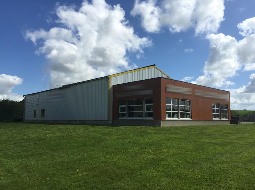 Entrepôt / local industriel Bourg Blanc 500 m2