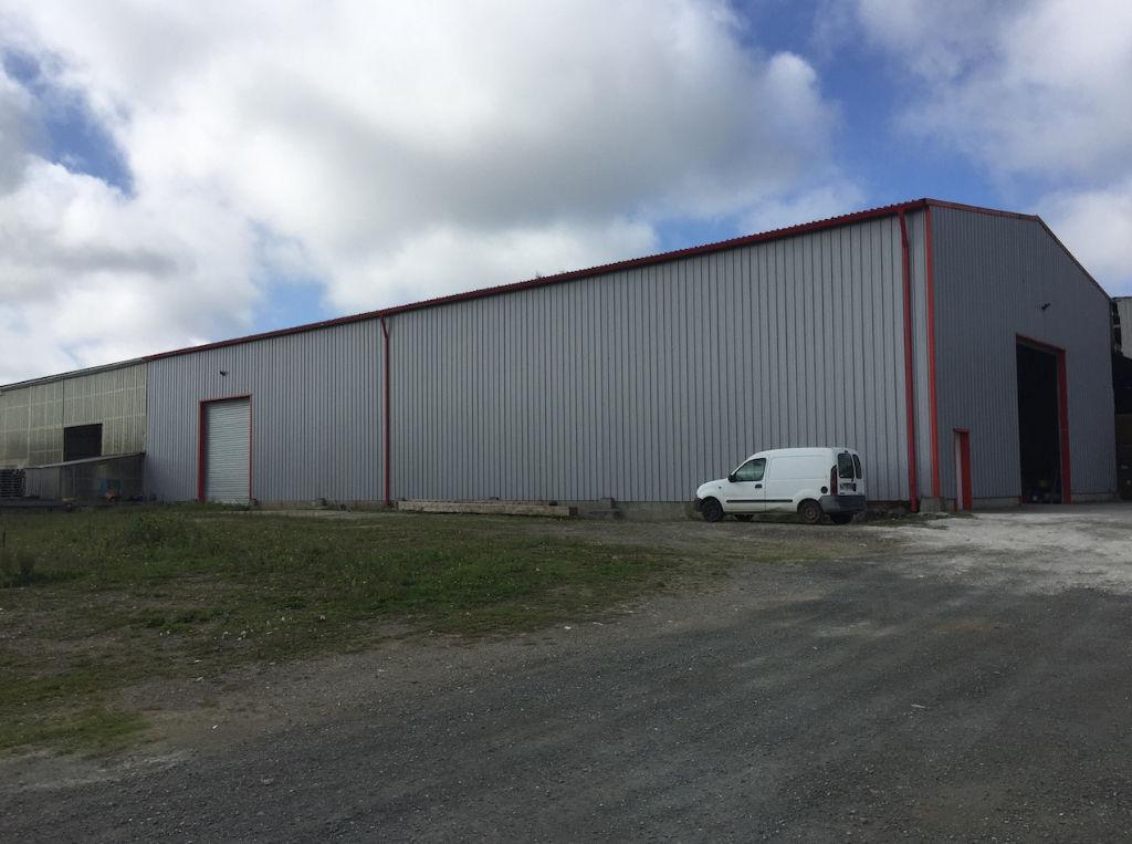 Entrepôt / local industriel Lannilis 1220 m2 + terrain 16.000 m2