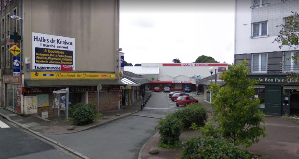 Brest - local commercial 1076m2