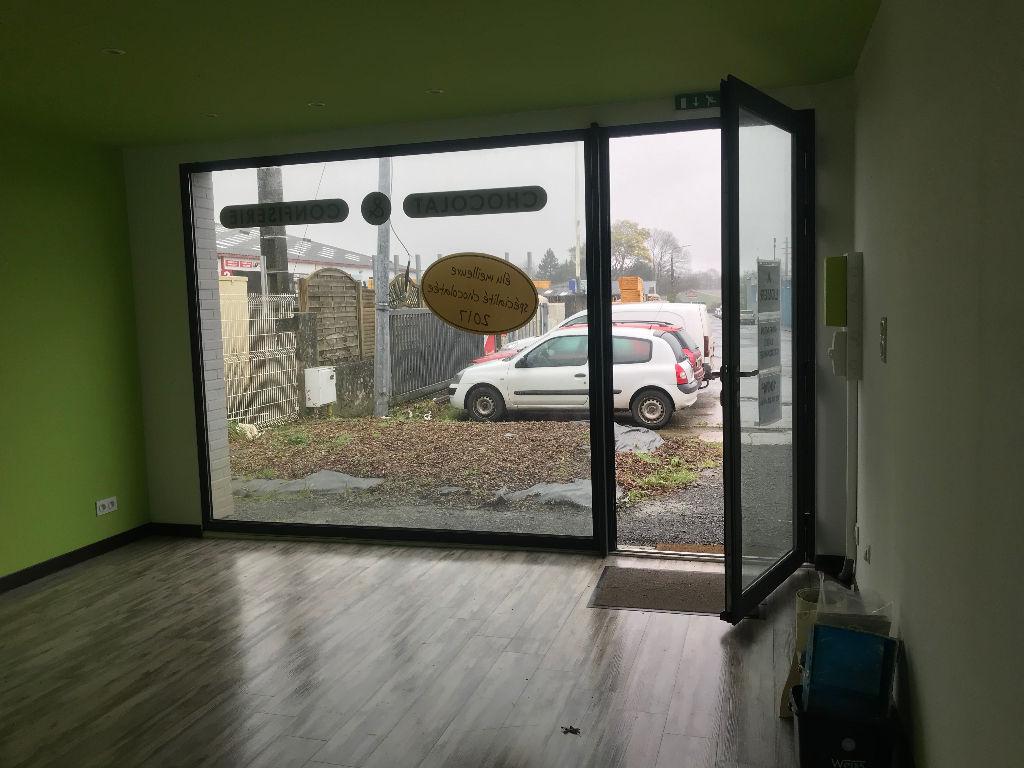 Local commercial Landerneau 100 m2
