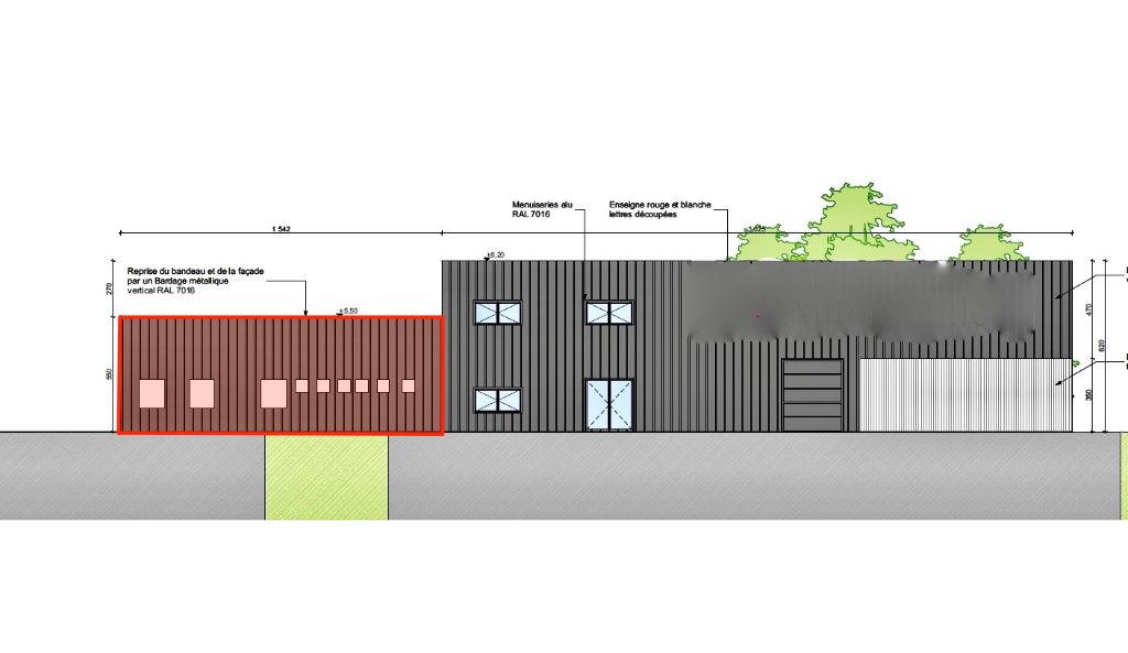 Local d'activité Guilers 500 m2
