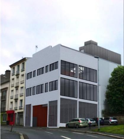 Rare sur le marché local commercial Brest secteur Jaures 323 m2.