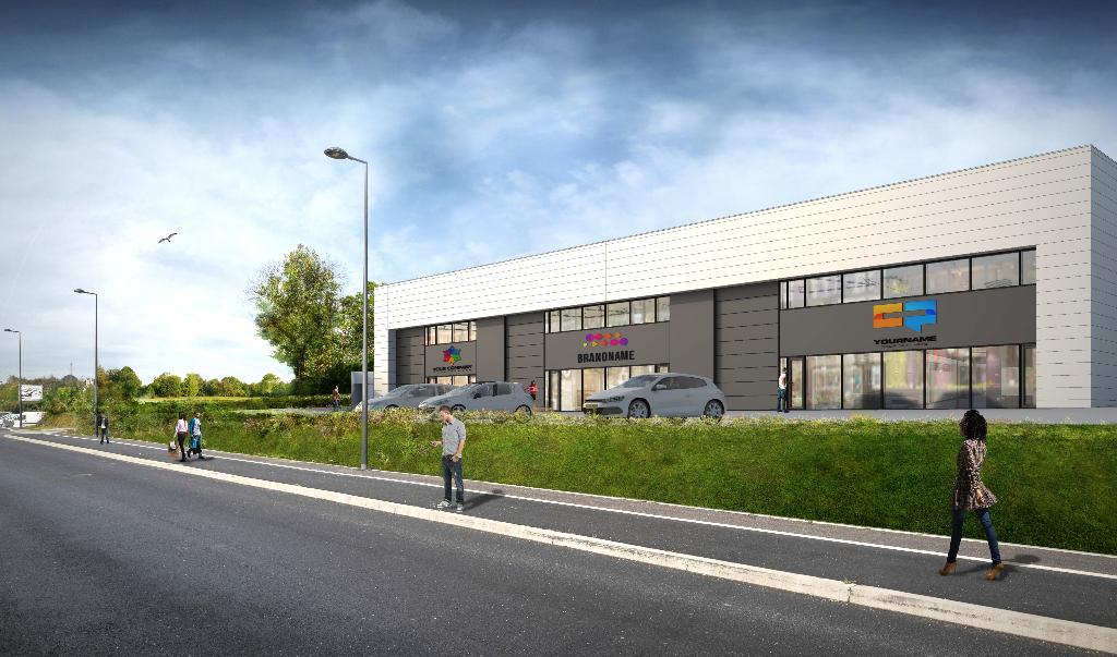 Entrepôt / local industriel Guipavas 1350 m2