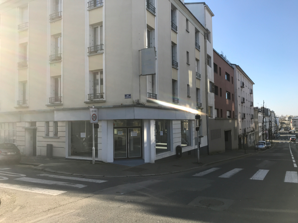 Local commercial Brest 105 m2 harteloire