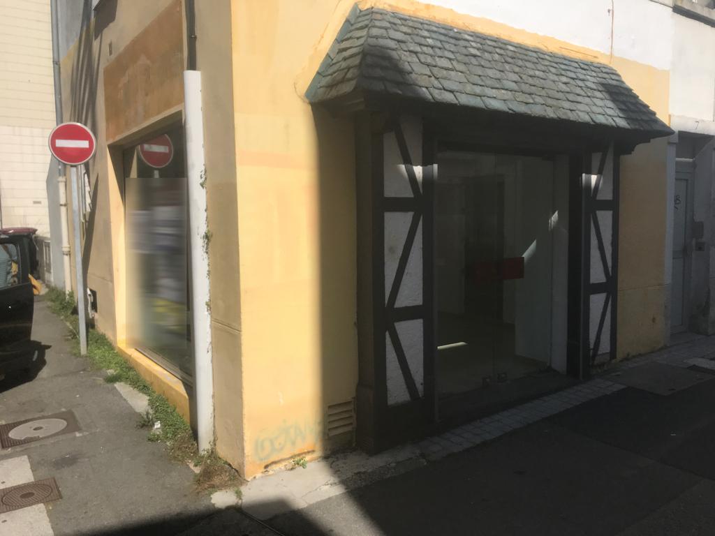 Local commercial Brest 20 m2 secteur centre Jaurès