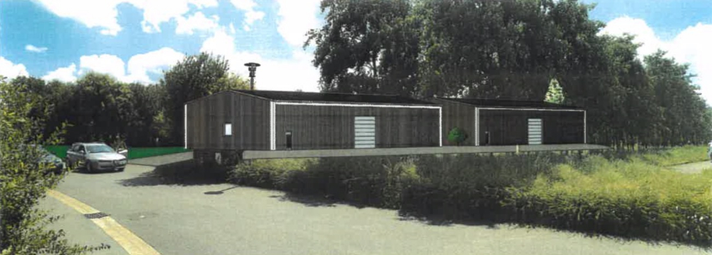 Entrepôt - Dirinon - 500 m2